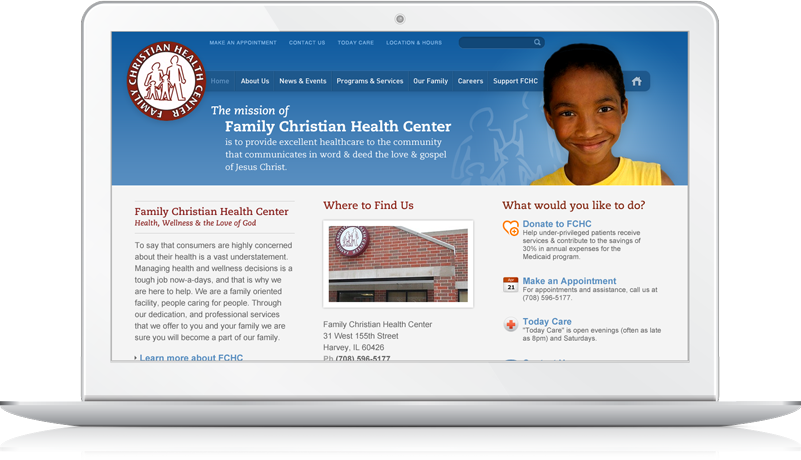 Christian Family Health Center Website Photo 1