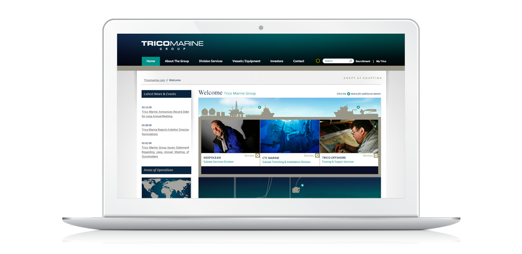 Trico Marine Group Website Photo 1